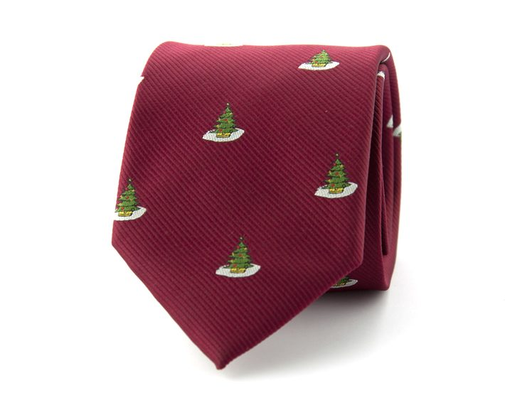 rode kerst stropdas
