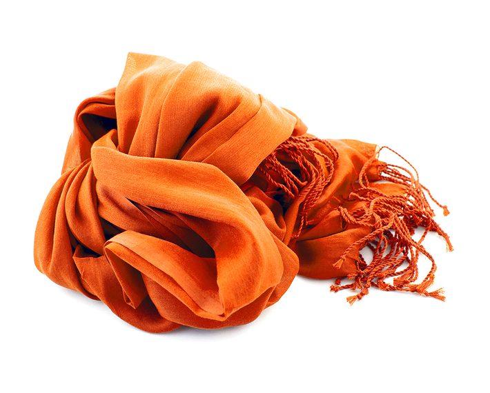 zijden sjaal