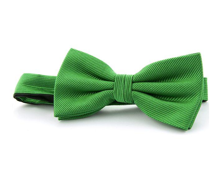 groene bow tie